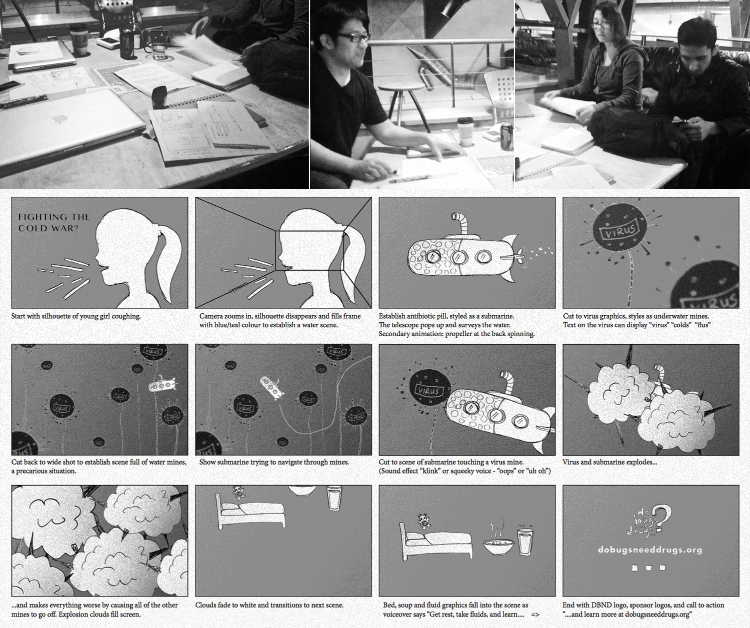 DBND-campaign-storyboard